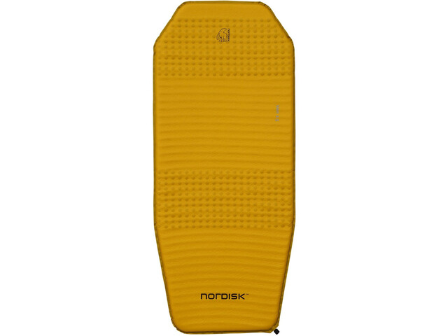 Nordisk Ven 2.5 Matelas autogonflant, mustard yellow/black